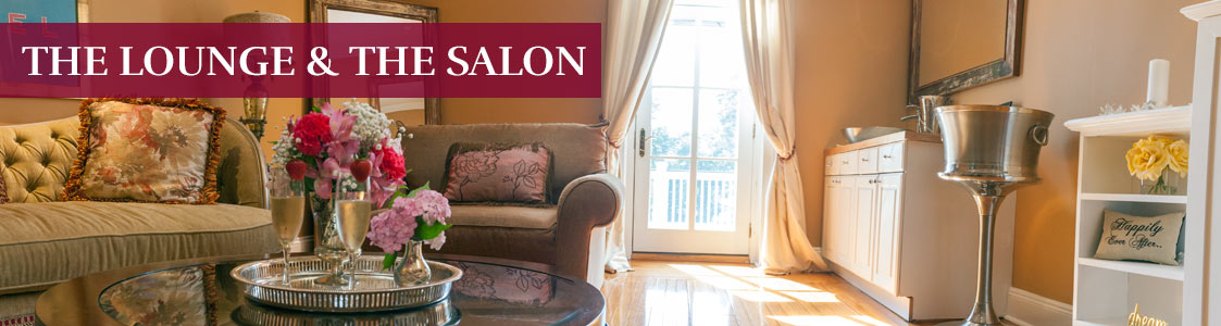 the lounge room & salon